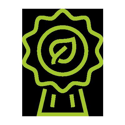 Icon Klimaschutz Zertifikate